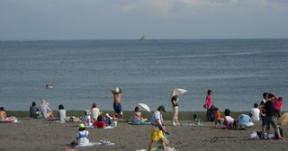 Southern Beach, Chigasaki (Photo: Goki, Wikimedia Commons)