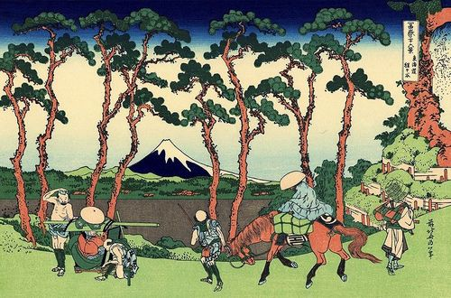 The Tokaido by Hokusai (Wikimedia Commons)