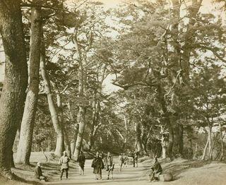The Tokaido in 1865 (Photo: Felice Beato, Wikimedia Commons)