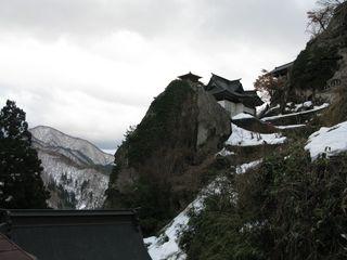 Yamadera clifftop