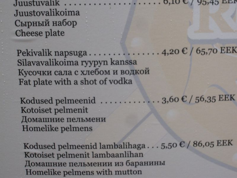 The Baltic Diet