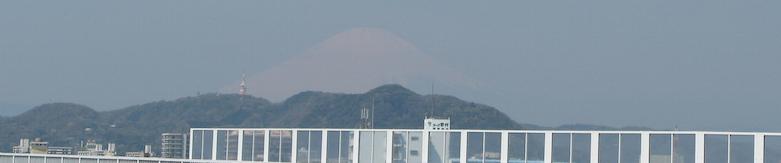 Fuji above Shonandaira