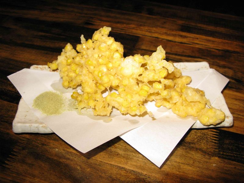 Inaka corn tempura