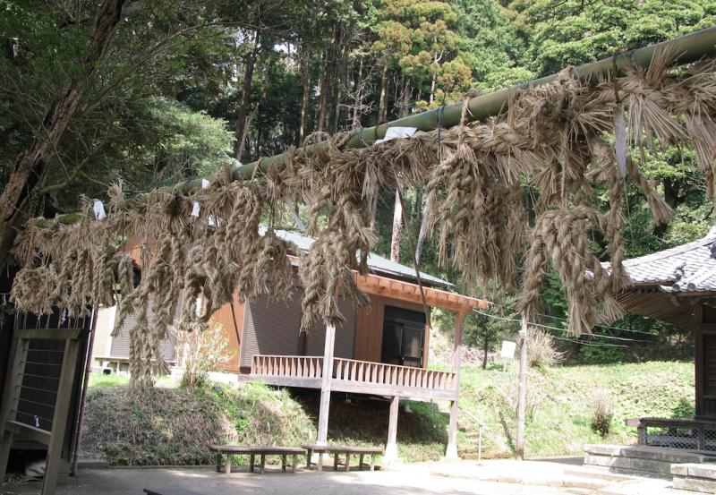 Hakusan shrine decoration