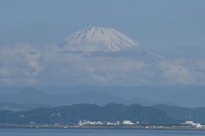 Fuji over Sagami