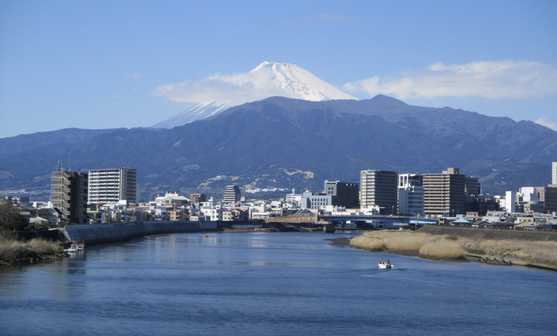 Fuji often in view