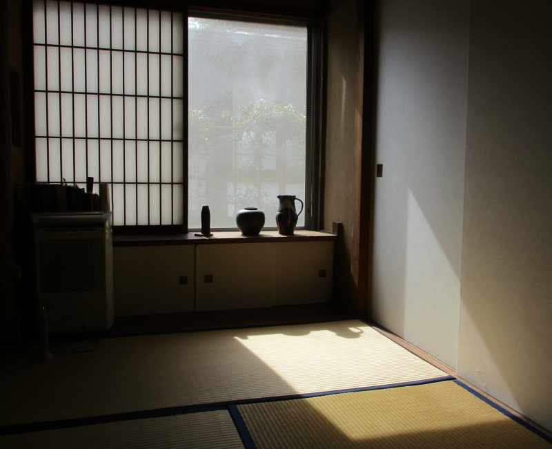 Sun on tatami