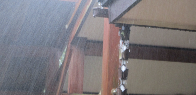 Raindrops crescendo
